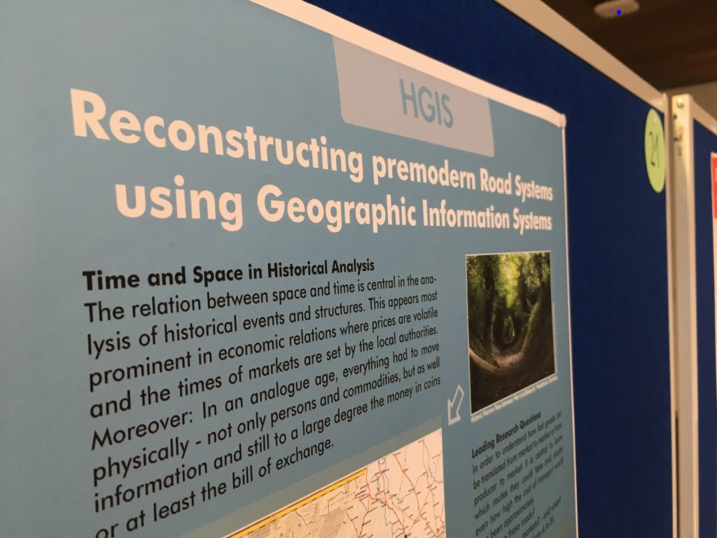 Poster about the Project at DH Expo in Göttingen