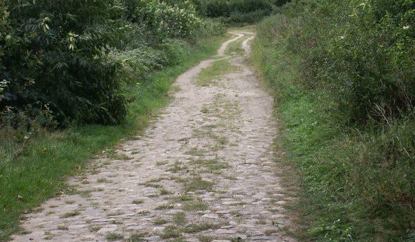 What did medieval roads look like?